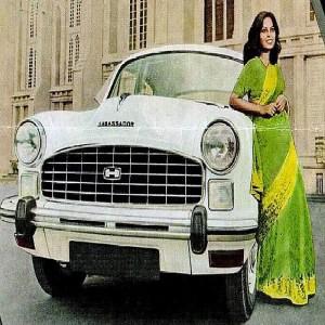 1963 Hindustan Ambassador II 1963 publicity picture