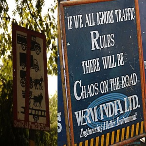 Driving in India funny traffic signs